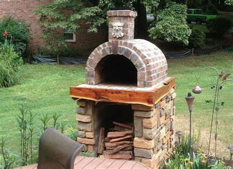 outdoor pizza oven kits the shiley family wood fired diy brick pizza oven in south carolina brickwood ovens gardens