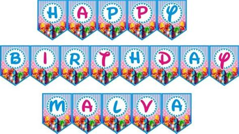 Banner Segitiga Happy Birthday jual bendera bunting banner happy birthday perlengkapan