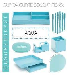 aqua blue desk accessories 1000 images about aqua on desk accessories