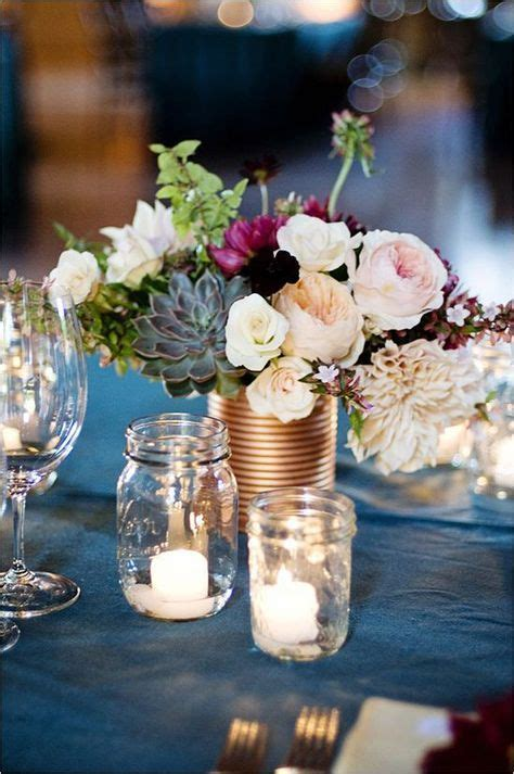 25  best ideas about Plum wedding centerpieces on