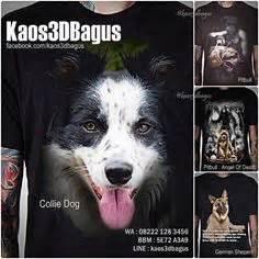 Jual Kaos 3d Keren Kekinian Singa kaos gambar anjing 3d rottweiler pug golden retriever