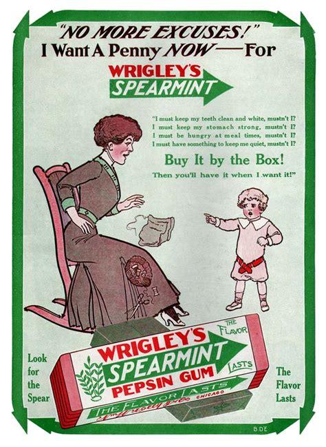 wrigley s spearmint gum 1913a