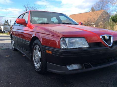1995 alfa romeo 164 quadrifoglio sedan for sale