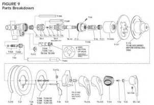 symmons temptrol shower valve parts symmons temptrol washermaintenance help terry