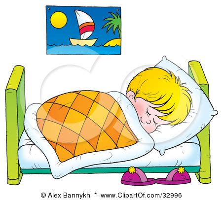 bed to go go to bed clipart boy