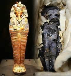 king tut full body tomb