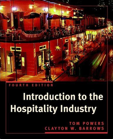 Introduction To Management In The Hospitality Industry librarika introduction to management in the hospitality