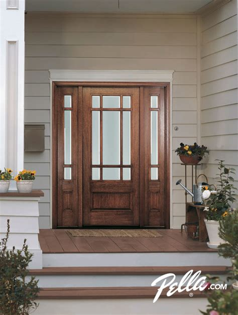 pella front doors enhance your home s entryway with pella 174 front doors