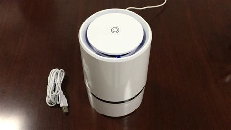 new usb desk negative ion air purifier with aroma function