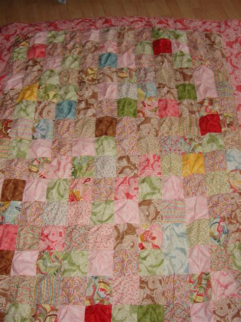 Biscuit Quilt Pattern by Biscuit Quilt Crumb Cake Quilt With Monsters