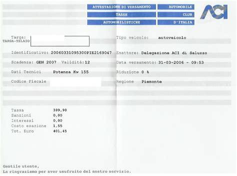 bollo auto in caso di vendita porschemania forum rientro dall esenzione bollo