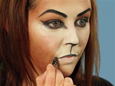 cat makeup tutorial halloween makeup tutorial cat hgtv