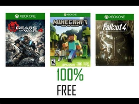 how to get full version xbox games for free how to get free xbox one games youtube