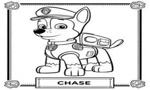 coloring pages paw patrol chase paw patrol chase coloring coloring pages