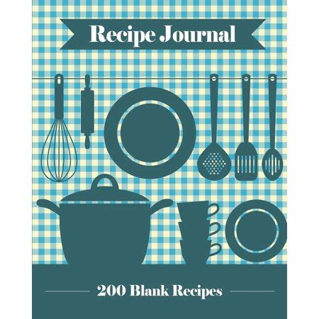 create your own cookbook template recipe journal 200 blank recipe templates you can use to
