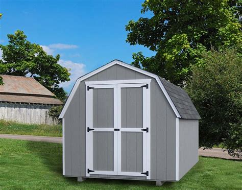 gambrel barn 10 wide 4 side wall value gambrel style nw quality sheds