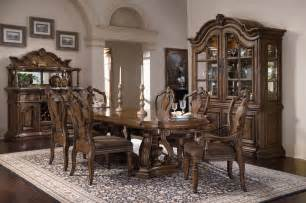 Dining Room Furnitures Pulaski Furniture Dining Room San Mateo Carved Back Side