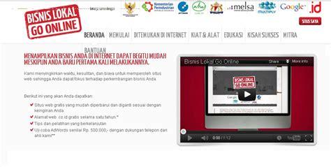 membuat usaha lewat internet cara membuat situs web gratis bagi usaha lokal warug baca