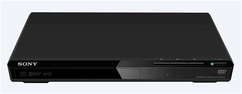 small format dvd player small compact slim dvd player dvp sr170 sony uk