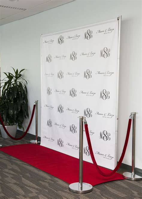 Wedding Backdrop Logo by Custom Photo Backdrop Step And Repeat Backdrop Custom
