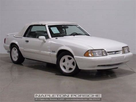 Vanilla Mustang by 1993 Ford Mustang Lx 79686 Vanilla White 2d