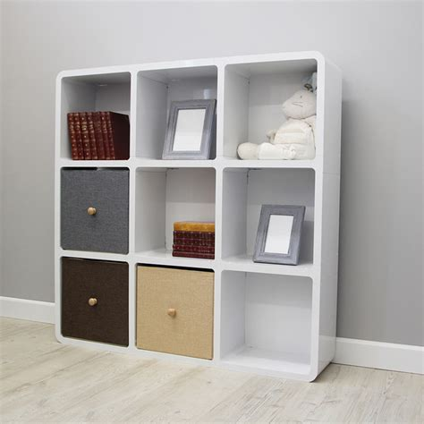 esslo square bookcase contemporary bookcases south