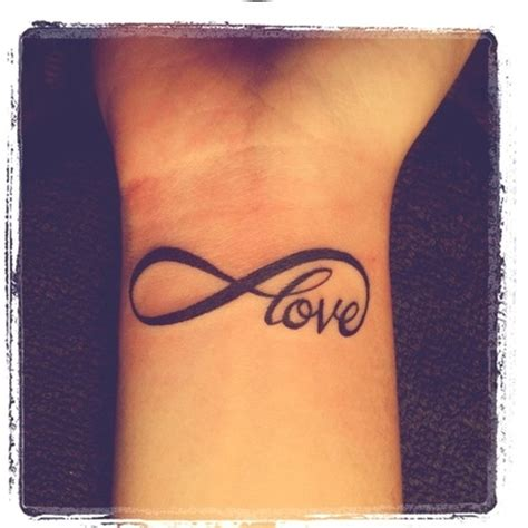 tattoo infinity wrist girl tattoos and designs page 200