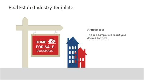 real estate industry powerpoint template slidemodel