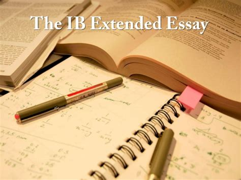 Ib Biology Extended Essay by Extended Essay Page Ib Extended Essay Ee
