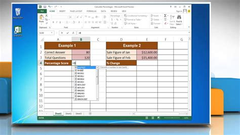 Search Warrant Canada Exle How To Calculate Percentages In Excel 2013