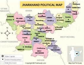 Jharkhand by Jharkhand Map Map Of Jharkhand State India Jharkhand
