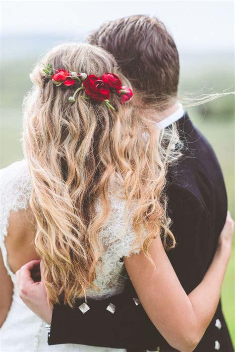 Wedding Day Flowers Ideas by Lovely Look Fresh Flower Wedding Hair Style Weddceremony