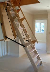 Retractable Stairs Design Loft Centre Sandringham Electric Folding Wooden Stairway Loft Centre