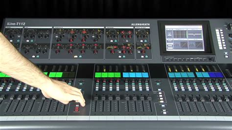 Mixer Allen Heath Ilive T112 allen heath ilive foh and monitor using surface and