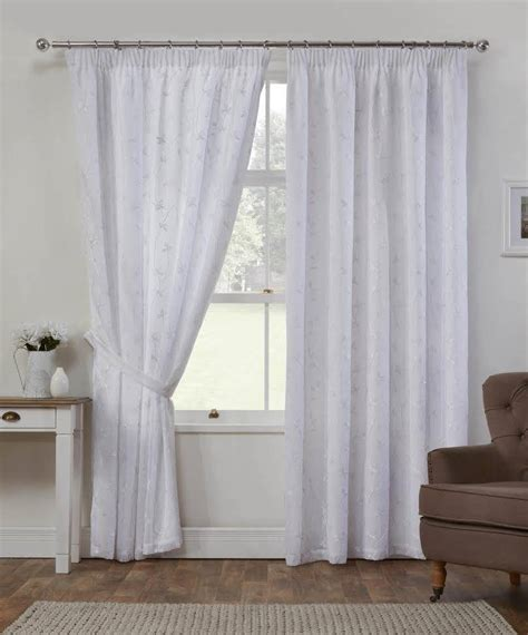 white embroidered curtains cheltenham white embroidered curtains net curtain 2 curtains