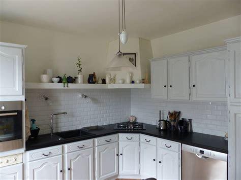 comment moderniser une cuisine en chene wunderbar cuisine repeinte en blanc comment moderniser une