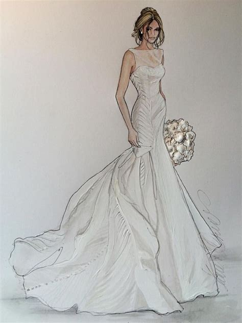 fashion illustration wedding dresses book of dress sketch in singapore by jacob playzoa