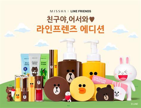 Missha Line Friends Mascara 3d missha x line friends makeup collaboration airfrov