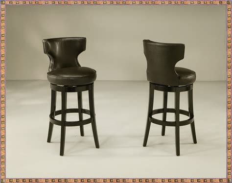 Leather Swivel Bar Stools With Back And Arms by Wooden Swivel Bar Stools With Back And Arms Swivel Bar