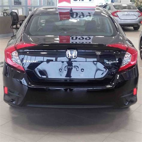 honda civic 2016 black showroom showoff 2016 civic touring dow honda