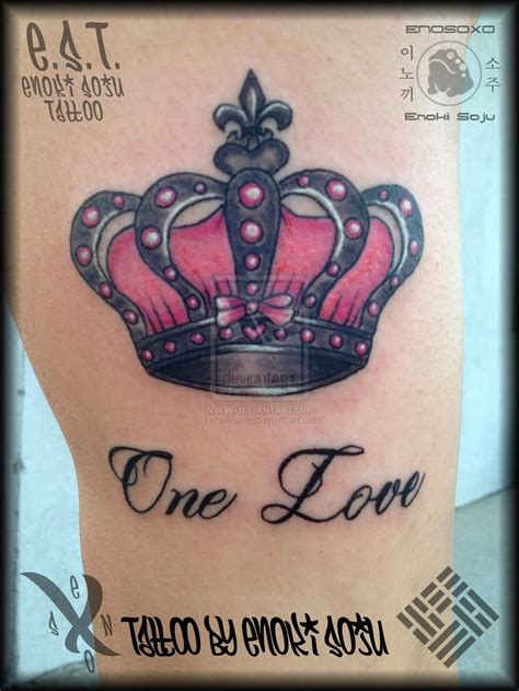princess tattoo designs one pink crown for tatted up