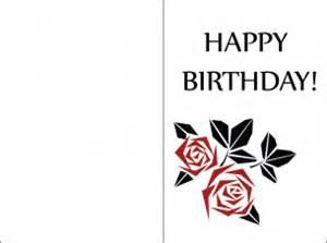minimalist petal birthday cards