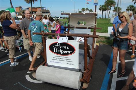 flagler s great bed race the nuttiness the bed