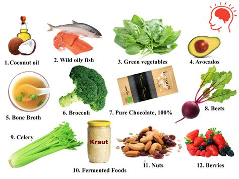 how to feed a brain nutrition for optimal brain function and repair books top 12 foods for your brain s healthy kitchen