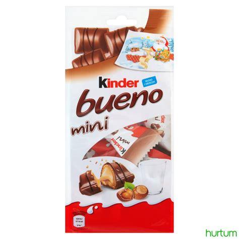 Kinder Bueno Minis Isi 17 kinder bueno mini baton z orzechowym nadzieniem w kruchym