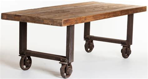 industrial kitchen tables tables city living design