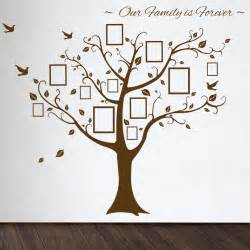 Wall Decor Tree Stickers home family tree decals family tree wall decal