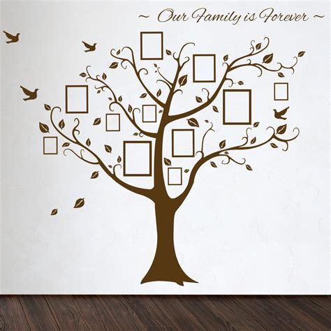 tree stickers for walls family tree wall decal