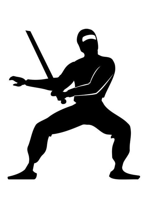 Malvorlage Ninja - Kostenlose Ausmalbilder Zum Ausdrucken.