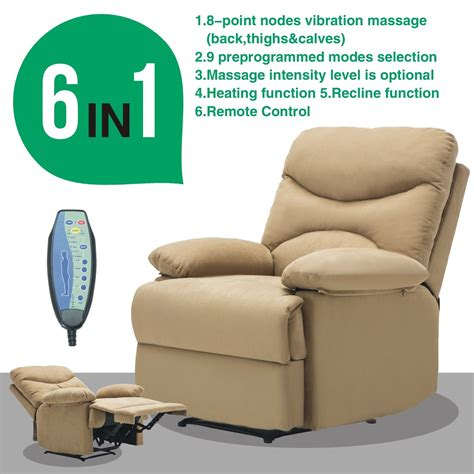Ergonomic Recliner Chair - ergonomic recliner sofa chair microfiber lounge